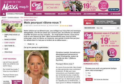 Article Maxi-Mag