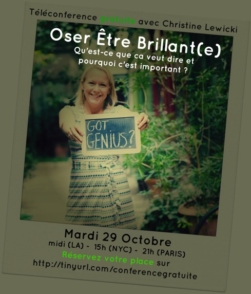 Banner oser etre brillant(e)