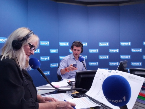 Julie et Thomas Sotto Europe 1
