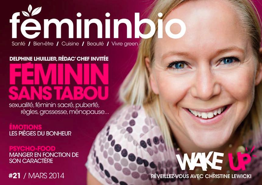 Christine cover Femininbio