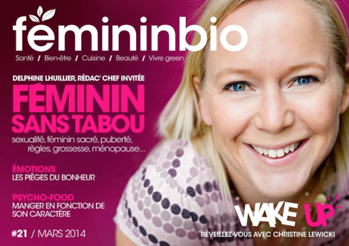 Christine cover Femininbio