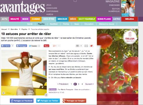 Avantages Magazine