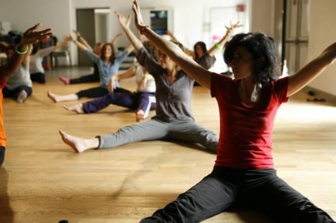 WAKE UP Retraite yoga class