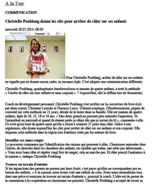 Christelle Poublang JDR article 1:2