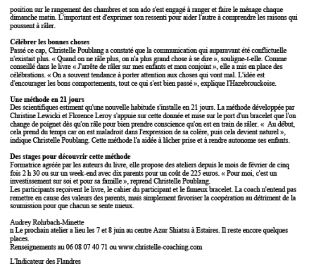 Christelle Poublang JDR Article 2:2