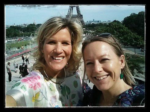 Lilou et Christine Paris