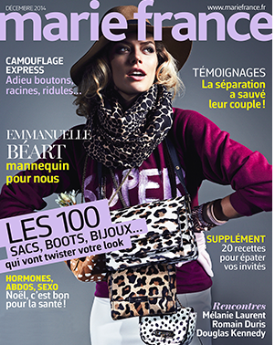Marie-France  JDR Top 10 blogs cover