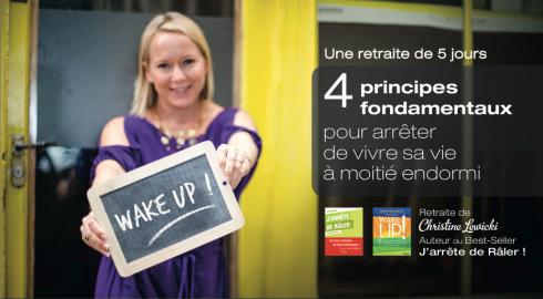 WAKE UP ! Nouvelle formule 5 jours