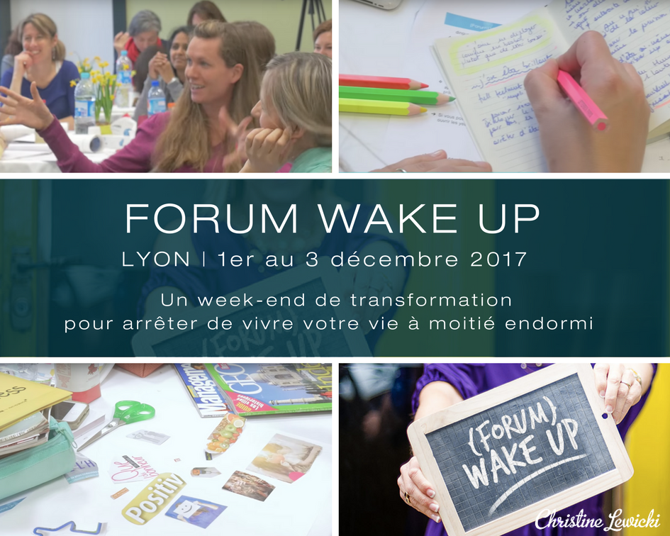 Christine Lewicki | WAKE UP | Coaching | Développement personnel