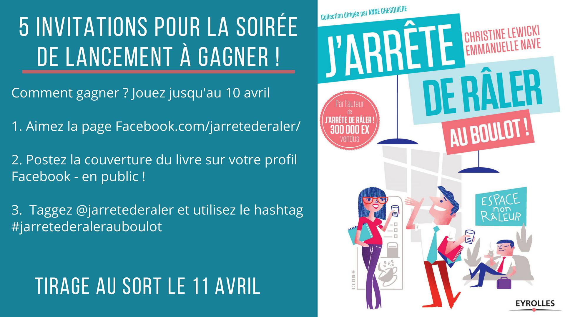 Jeu Concours Facebook Instagram J Arrete De Raler
