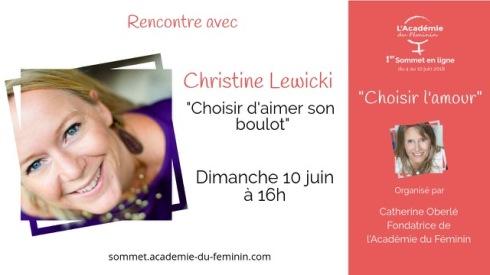 christine-lewicki sommet academiedu feminin