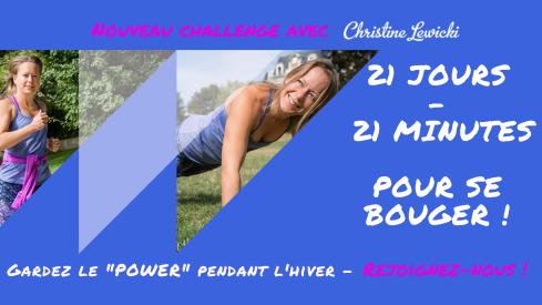Challenge 21mn_21 jours pour se bouger !