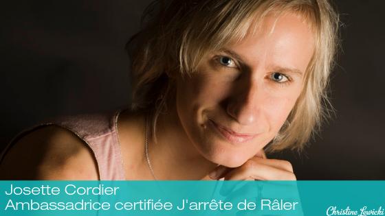 Josette Cordier - Ambassadrice certifiée J'arrête blog de Râler (1)